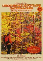 Buy map Great Smoky Mountains National Park, Tennessee and North Carolina, waterproof by Earthwalk Press