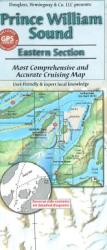 Buy map Prince William Sound, Alaska, Eastern Section by Fine Edge from Alaska Maps Store