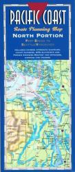 Buy map Pacific Coast, North, Fort Bragg to Seattle by Fine Edge from United States Maps Store