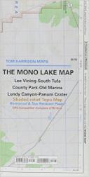 Buy map Mono Lake, California by Tom Harrison Maps