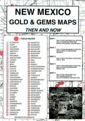 Buy map New Mexico, Gold and Gems, 6-Map Set, Then and Now by Northwest Distributors from New Mexico Maps Store