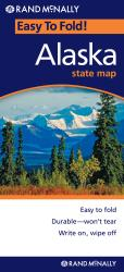 Buy map Alaska, Easy to Fold by Rand McNally from Alaska Maps Store