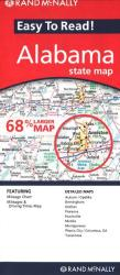 Buy map Alabama by Rand McNally from Alabama Maps Store