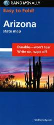 Buy map Arizona, Easy to Fold by Rand McNally from Arizona Maps Store
