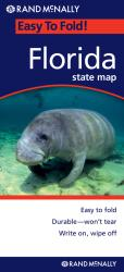 Buy map Florida, Easy to Fold by Rand McNally from Florida Maps Store