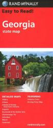Buy map Georgia by Rand McNally from Georgia Maps Store