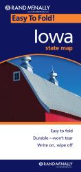 Buy map Iowa, Easy to Fold by Rand McNally from Iowa Maps Store