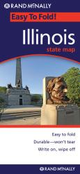 Buy map Illinois, Easy to Fold by Rand McNally