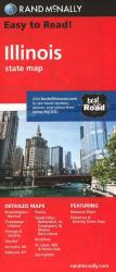 Buy map Illinois by Rand McNally in Illinois Map Store