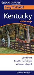 Buy map Kentucky, Easy to Fold by Rand McNally from Kentucky Maps Store
