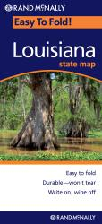 Buy map Louisiana, Easy to Fold by Rand McNally from Louisiana Maps Store