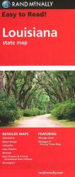 Buy map Louisiana by Rand McNally from Louisiana Maps Store