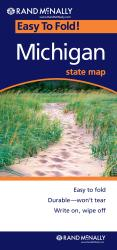 Buy map Michigan, Easy to Fold by Rand McNally from Michigan Maps Store