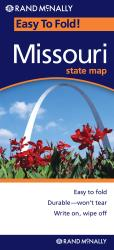 Buy map Missouri, Easy to Fold by Rand McNally from Missouri Maps Store