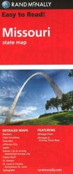Buy map Missouri by Rand McNally from Missouri Maps Store