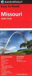 Buy map Missouri by Rand McNally from Missouri Maps Store