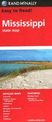Buy map Mississippi by Rand McNally from Mississippi Maps Store