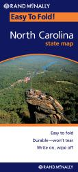 Buy map North Carolina, Easy to Fold by Rand McNally from North Carolina Maps Store