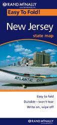 Buy map New Jersey, Easy to Fold by Rand McNally from New Jersey Maps Store