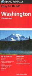 Buy map Washington by Rand McNally from Washington Maps Store