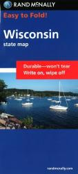 Buy map Wisconsin, Easy to Fold by Rand McNally