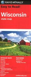 Buy map Wisconsin by Rand McNally from Wisconsin Maps Store