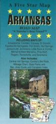 Buy map Arkansas by Five Star Maps, Inc. from Arkansas Maps Store