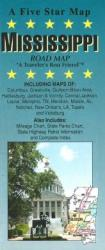 Buy map Mississippi by Five Star Maps, Inc. from United States Maps Store
