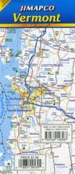 Buy map Vermont, Quickmap by Jimapco from Vermont Maps Store