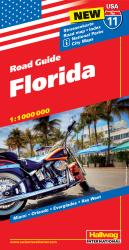 Buy map USA 11: Florida by Hallwag from Florida Maps Store