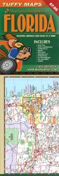 Buy map Florida, Laminated Tuffy Map with City Insets by Tuffy Maps from Florida Maps Store