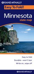 Buy map Minnesota, Easy to Fold by Rand McNally from Minnesota Maps Store