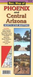 Buy map Phoenix and Central Arizona, Recreation Map by North Star Mapping from Arizona Maps Store
