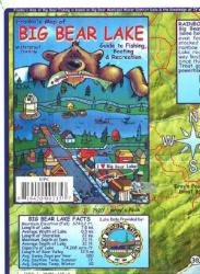 Buy map California Map and Fish Card, Frankos Guide to the Fish of Big Bear Lake, 2009 by Frankos Maps Ltd. from California Maps Store
