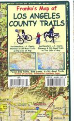 Buy map California Map, L.A. County Bikeways and Trails, folded, 2011 by Frankos Maps Ltd. from California Maps Store