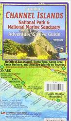 Buy map California Map, Channel Islands Guide and Dive, folded, 2011 by Frankos Maps Ltd. from California Maps Store
