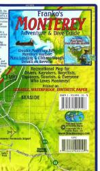 Buy map California Map, Monterey Bay Guide and Dive, folded, 2011 by Frankos Maps Ltd. from California Maps Store