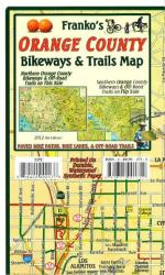 Buy map California Map, Orange County Bikeways and Trails, folded by Frankos Maps Ltd. from California Maps Store