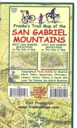 Buy map California Map, San Gabriel Mountains, folded, 2007 by Frankos Maps Ltd. from California Maps Store