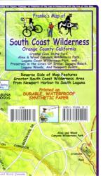 Buy map South Coast Wilderness, Orange Co, California Trails by Frankos Maps Ltd. from California Maps Store