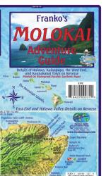 Buy map Molokai, Hawaii, Adventure Guide by Frankos Maps Ltd. from Hawaii Maps Store
