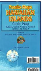 Buy map Hawaii Map, Hawaiian Islands Guide, folded, 2009 by Frankos Maps Ltd. from Hawaii Maps Store