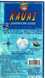 Buy map Kauai, Hawaii, Guide Map by Frankos Maps Ltd. from Hawaii Maps Store