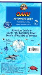 Buy map Oahu Adventure Guide by Frankos Maps Ltd. from Hawaii Maps Store