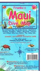 Buy map Maui, Hawaii, Diving, Surfing , Hiking and Tourist Folded Map by Frankos Maps Ltd. from Hawaii Maps Store