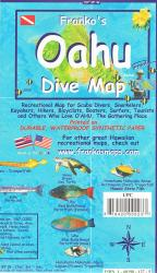 Buy map Oahu, Hawaii, Diving/Hiking/ Biking/Tourist by Frankos Maps Ltd. from Hawaii Maps Store