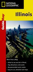 Buy map Illinois GuideMap by National Geographic Maps from Illinois Maps Store