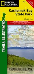 Buy map Kachemak Bay State Park, Alaska, Map 763 by National Geographic Maps from Alaska Maps Store