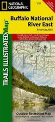 Buy map Buffalo National River, East, Arkansas, Map 233 by National Geographic Maps from Arkansas Maps Store