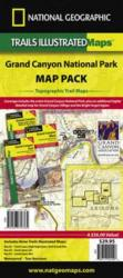 Buy map Grand Canyon, Map Pack Bundle by National Geographic Maps from Arizona Maps Store